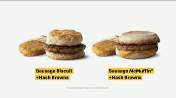 McDonald's TV Spot, 'Breakfast Stampede: Sausage Biscuit or Sausage McMuffin With Hash Browns' - Thumbnail 9