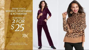 K&G Fashion Superstore Holiday Event TV Spot, 'Women's Sportswear, Activewear, Dresses and Boots' - Thumbnail 3