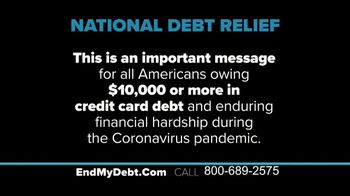 National Debt Relief TV Spot, 'COVID-19: Back on Track'