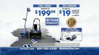 Snow Joe TV Spot, 'It's Coming' - Thumbnail 9