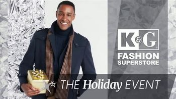 K&G Fashion Superstore Holiday Event TV Spot, 'Activewear and Suits'