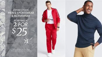 K&G Fashion Superstore Holiday Event TV Spot, 'Activewear and Suits' - Thumbnail 3