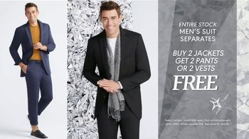 K&G Fashion Superstore Holiday Event TV Spot, 'Activewear and Suits' - Thumbnail 4