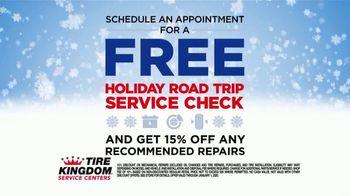 Tire Kingdom Season to Save TV Spot, 'Holiday Road Trip Service Check'