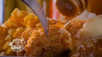 Bob Evans Restaurants Honey Butter Chicken and Biscuit  Breakfast TV Spot, 'Smothered' - Thumbnail 3