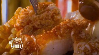 Bob Evans Restaurants Honey Butter Chicken and Biscuit  Breakfast TV Spot, 'Smothered' - Thumbnail 4