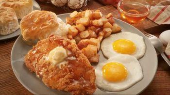 Bob Evans Restaurants Honey Butter Chicken and Biscuit  Breakfast TV Spot, 'Smothered' - Thumbnail 5