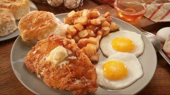 Bob Evans Restaurants Honey Butter Chicken and Biscuit  Breakfast TV Spot, 'Smothered' - Thumbnail 6