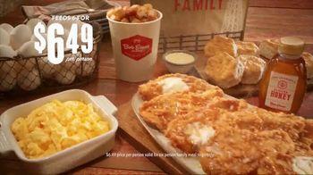 Bob Evans Restaurants Honey Butter Chicken and Biscuit  Breakfast TV Spot, 'Smothered'