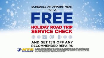 National Tire & Battery TV Spot, 'Season to Save: Save $100 and Free Holiday Service Check' - Thumbnail 4