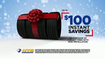 National Tire & Battery TV Spot, \'Season to Save: Save $100 and Free Holiday Service Check\'