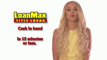LoanMax Title Loans TV Spot, 'We're Here for You'