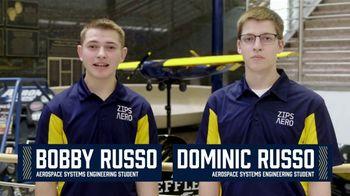 The University of Akron TV Spot, 'UA Spotlight: Aerospace Engineering Students' Feat. Matt Kaulig