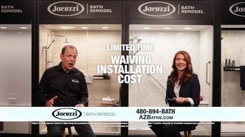 Jacuzzi TV Spot, 'Converting to a Shower' - Thumbnail 9