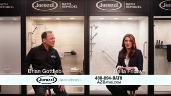 Jacuzzi TV Spot, 'Converting to a Shower' - Thumbnail 2