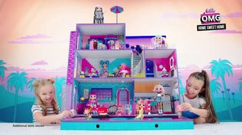 L.O.L. Surprise! O.M.G. Home Sweet Home TV Spot, 'Move In'