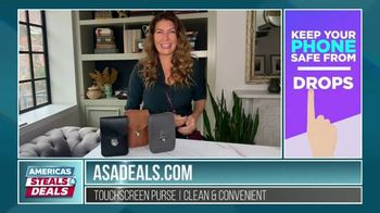 America's Steals & Deals TV Spot, 'Touchscreen Purse' Featuring Genevieve Gorder
