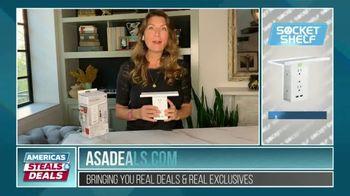 America's Steals & Deals TV Spot, 'Socket Shelf' Featuring Genevieve Gorder - Thumbnail 3