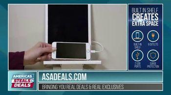 America's Steals & Deals TV Spot, 'Socket Shelf' Featuring Genevieve Gorder - Thumbnail 4