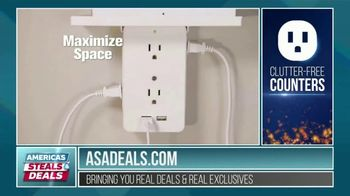 America's Steals & Deals TV Spot, 'Socket Shelf' Featuring Genevieve Gorder - Thumbnail 8