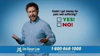 Jim Glaser Law TV Spot, 'Car Accident Questions'