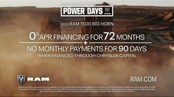 Ram Trucks Power Days TV Spot, 'Mastery' [T2] - Thumbnail 6