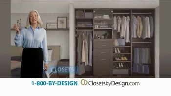Closets by Design TV Spot, 'We Do It All: 12 Month Financing'