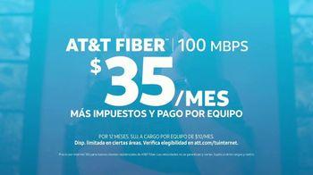 AT&T Internet Fiber TV Spot, 'Chat de video: $35 dólares al mes' [Spanish] - Thumbnail 6