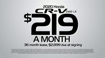 Honda Model Year End Sale TV Spot, 'In Stock: CR-V' [T2] - Thumbnail 4