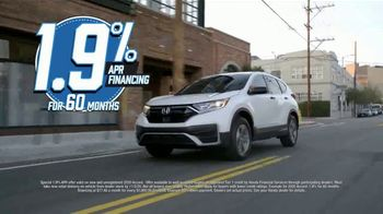 Honda Model Year End Sale TV Spot, 'In Stock: CR-V' [T2] - Thumbnail 5