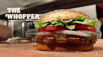 Burger King 2 for $5 Mix n' Match TV Spot, 'Real Whopper'