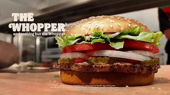 Burger King Whopper TV Spot, 'Real Whopper: $1 Delivery Fee' - Thumbnail 9