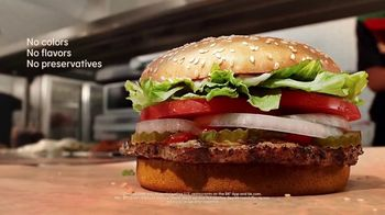 Burger King Whopper TV Spot, 'Real Whopper: $1 Delivery Fee' - Thumbnail 8