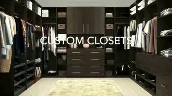 Closets by Design TV Spot, '40% Off Plus Free Installation'