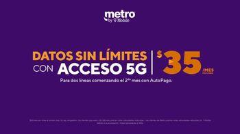 Metro by T-Mobile TV Spot, 'Conquista tu día: 5G datos sin límites' [Spanish] - Thumbnail 4