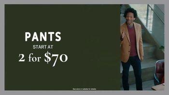 Men's Wearhouse Fall-iday Sale TV Spot, 'Jump Start the Holidays' - Thumbnail 3