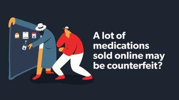 Roman TV Spot, 'Counterfeit Medication: $50 Off'