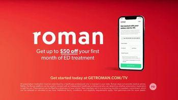 Roman TV Spot, 'Treatment Anywhere: $50 Off' - Thumbnail 5