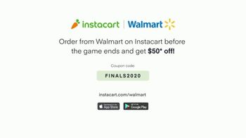 Instacart TV Spot, '2020 Finals: Get $50 Off Groceries Before the Game Ends' - Thumbnail 7