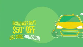 Instacart TV Spot, '2020 Finals: Get $50 Off Groceries Before the Game Ends' - Thumbnail 3