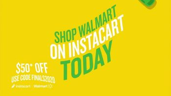 Instacart TV Spot, '2020 Finals: Get $50 Off Groceries Before the Game Ends'