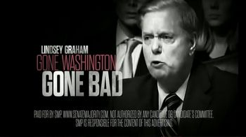 Senate Majority PAC TV Spot, 'Lindsey Graham: Clean Out the Swamp' - 4 commercial airings