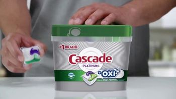 Cascade Platinum + Oxi TV Spot, 'Platos limpios' [Spanish] - Thumbnail 4