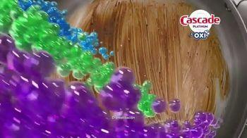 Cascade Platinum + Oxi TV Spot, 'Platos limpios' [Spanish] - Thumbnail 6