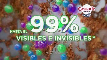 Cascade Platinum + Oxi TV Spot, 'Platos limpios' [Spanish] - Thumbnail 8