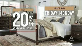 Ashley HomeStore Fall in Love With Home Sale TV Spot, '20% Off and Four Years No Interest' - Thumbnail 4