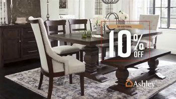 Ashley HomeStore Fall in Love With Home Sale TV Spot, 'Save an Additional 10%' - Thumbnail 6