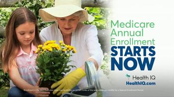 Health IQ TV Spot, 'Medicare Annual Enrollment Starts Now'