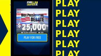 FOX Bet Super 6 TV Spot, 'Vice Presidential Debate Game' - Thumbnail 3