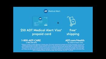 ADT Health and Senior Care TV Spot, 'Personal Emergency Response Systems: Prepaid Card' - Thumbnail 8